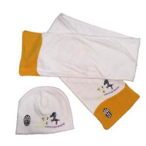 Caricamento dell immagine in corso JUVENTUS-set-sciarpa-e-cappello -in-pile-da- 78c3abc0e35d