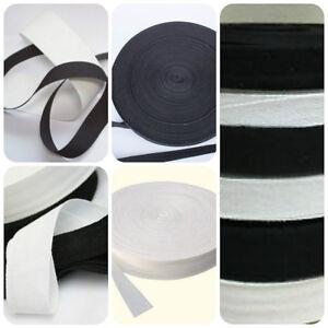 DéSintéRessé Noir Et Blanc Coton Bunting Ruban 50 Mètre Rolls-afficher Le Titre D'origine