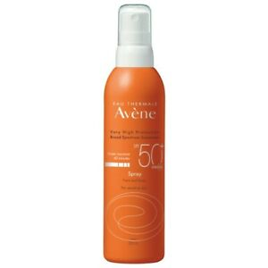 Avène Sunscreen Spray SPF50+ 200mL Very High Protection Eau Thermale Avene