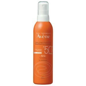 Avène Sunscreen Spray SPF50+ 200mL Very High Protection Eau Thermale Avene