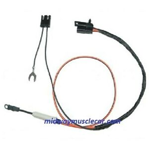 air conditioning a c compressor extension wire harness 69 70 pontiac gto lemans ebay. Black Bedroom Furniture Sets. Home Design Ideas