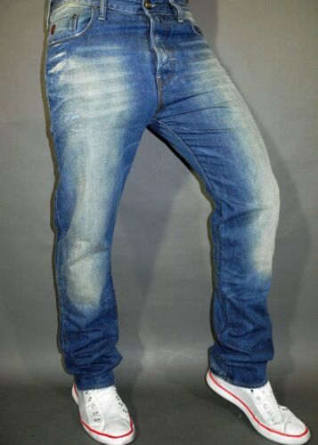 Arizona Denim w32 l34 G-STAR JEANS HELLER TAPERED FIT MEDIUM AGED T.P NEW
