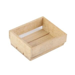 Dollhouse Miniature 1 12 Toy Vintage Wooden Basket Box Kitchen