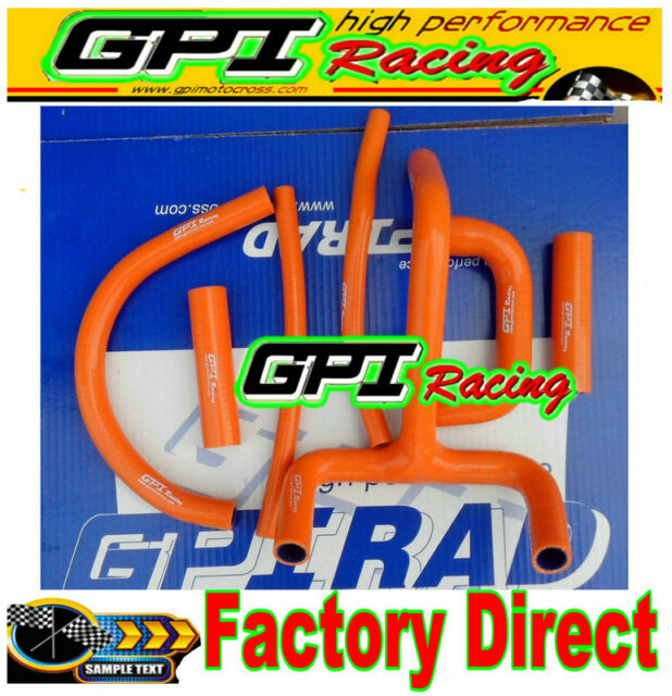 GPI silicone radiator hose for KTM LC4 620 625 640 660 orange