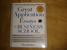 Great application essays for business school - Paul Bodine