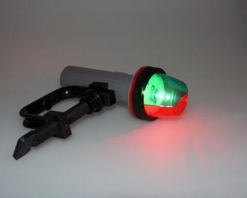 Pactrade Marine Boat LED Portable Bi-Color Port//Starboard Navigation Light