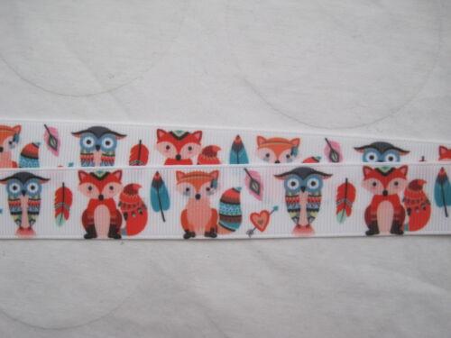 Owl fox feathers lanyard breakaway Lanyard 2 sizes keys whistle ID badge cute