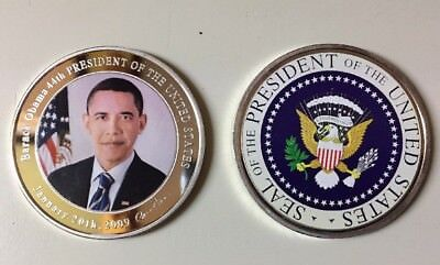 President Obama Commerative Coin //W Case by Obama Keepsake Collection