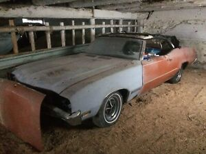 Project car 1971 Buick skylark custom convertible