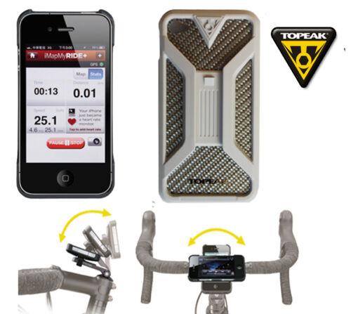 TT9832W Topeak Custodia x Bici Da Manubrio X Iphone 4//4S Rigida Ride Case B CAS