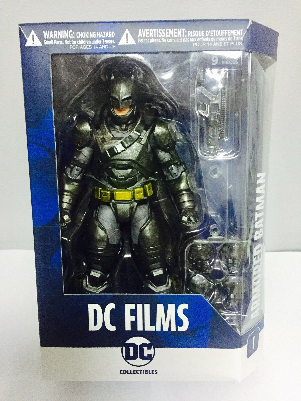 DC Film Blindato BATuomo Premium azione cifra BATuomo SUPERuomo V Dawn of Justice