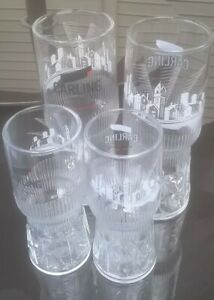 BRAND NEW 2 x CARLING BREWERY Pint Glasses