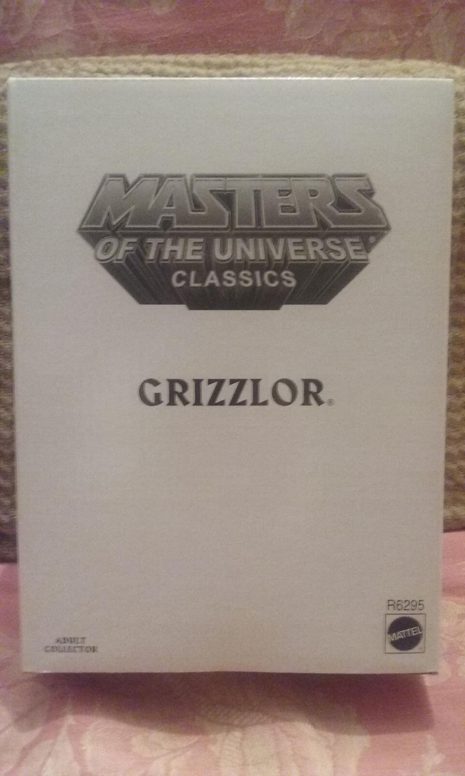 Maitres de l'Univers MOTU classeics - Grizzlor - masters of of of universe NEUF edaf3e