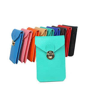 Lady-Mini-PU-Leather-Messenger-Bag-Purse-Shoulder-Mobile-Phone-Bag-Wallet