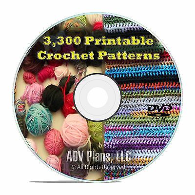 3300 Printable Crochet Patterns And Plans How To Crochet Afghans