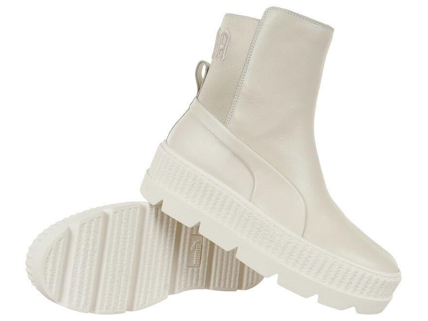 Para mujeres Tenis Puma Chelsea Bota Zapatillas Rihanna conjuntas plataformas de alta Tops