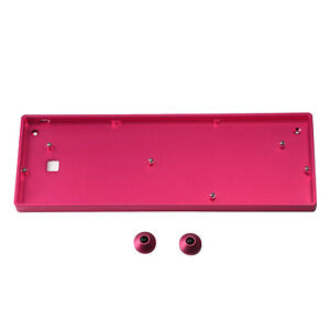 Details about GH60 64 Anodized Aluminum CNC Case Plate PCB Stabilizers For  60% 64 Keyboard