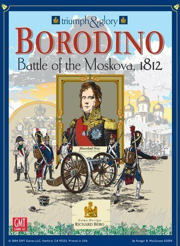 Boardgame - Borodino - Battle of the Moskova 1812 (Richard Berg)