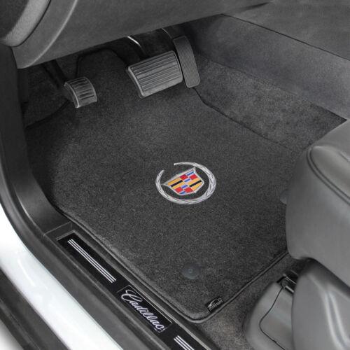 FOR Cadillac ATS 2013-2016 Front Floor Mats EBONY CADILLAC LOGO 620066