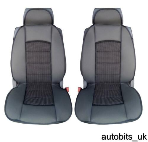Premium Schwarz Polster Sitzbezüge Fiat Ducato Luxus Wohnmobil
