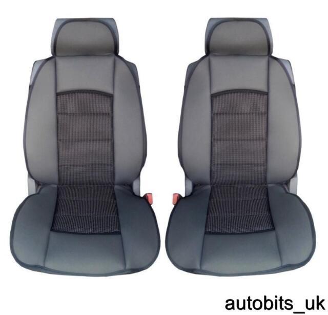 PREMIUM BLACK CUSHION PADDED Seat Covers Cushion FORD TRANSIT LUXURY MOTORHOME