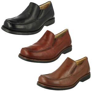Uomo-Anatomic-amp-Co-fiore-scarpe-slip-on-di-pelle-BERNARDO
