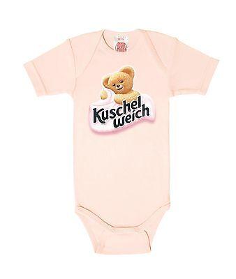 LOGOSHIRT rosa Baby Strampler Kuschelweich Bär Baby Body