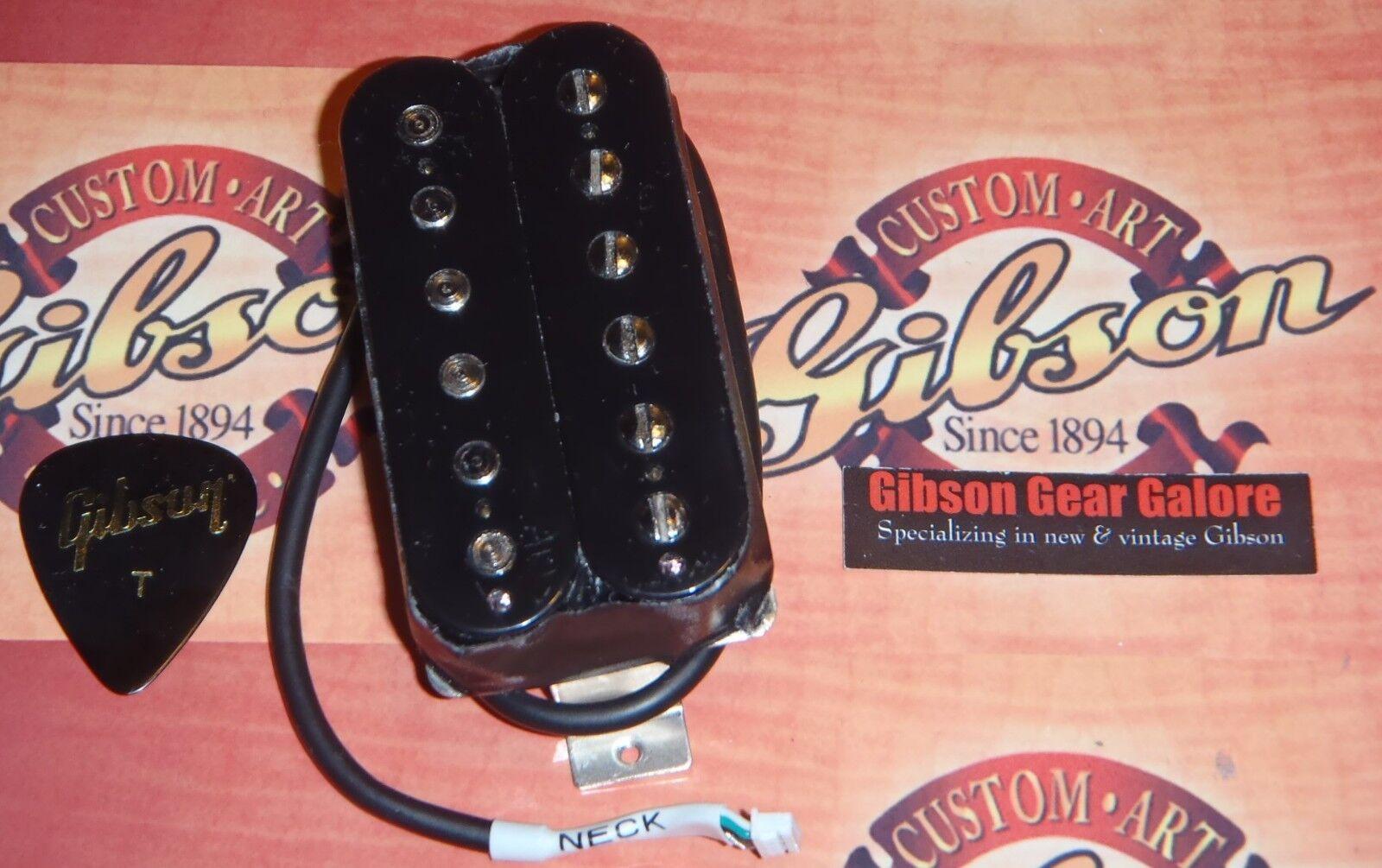 Gibson Les Paul Pickup 1961 R schwarz Guitar Parts SG Neck Humbucker HP Rhythm ES