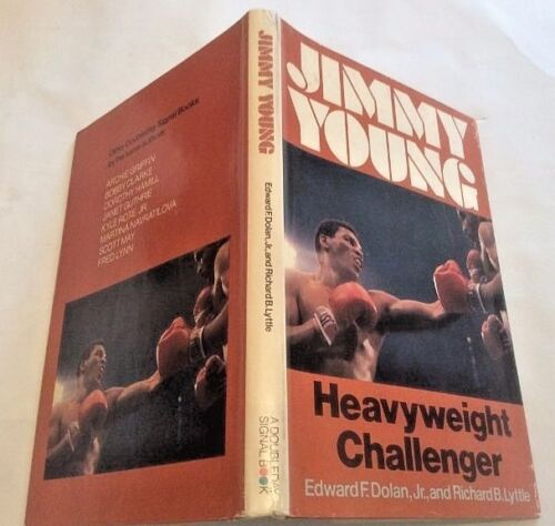 Rare Jimmy Young Heavyweight Challenger First Ed in DJ 1979