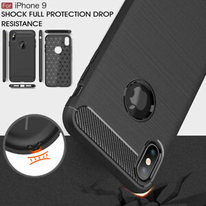 For-iPhone-XR-XS-Max-Shockproof-Luxury-Carbon-Fiber-Soft-TPU-Full-Cover-Case