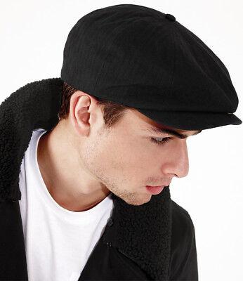 Beechfield Mens Newsboy Cap