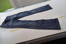 Tommy Hilfiger Robin old old school blue Damen Jeans Hose W26 L34 stone wash #20