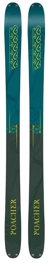 K2 Poacher snow skis 184cm, NEW 2019 (bindings available)