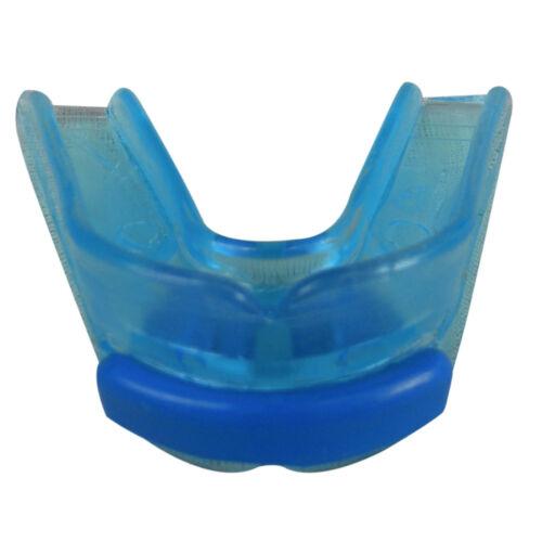 Transparent Gum Shield Double Mouth Guard Gum Protection Size Adults