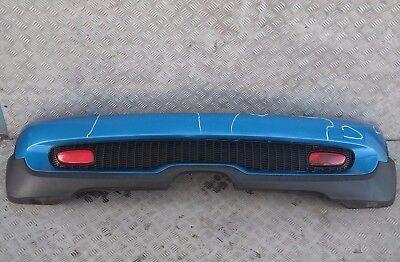 BMW MINI Cooper S R56 R57 Complete Rear Bumper Trim Panel Astro Black Metallic