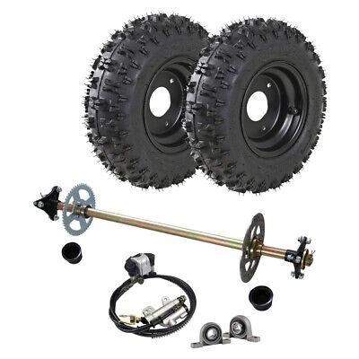 Brake Cylinder Caliper ATV Go Kart Chain Complete Rear Axle End Assembly Kit