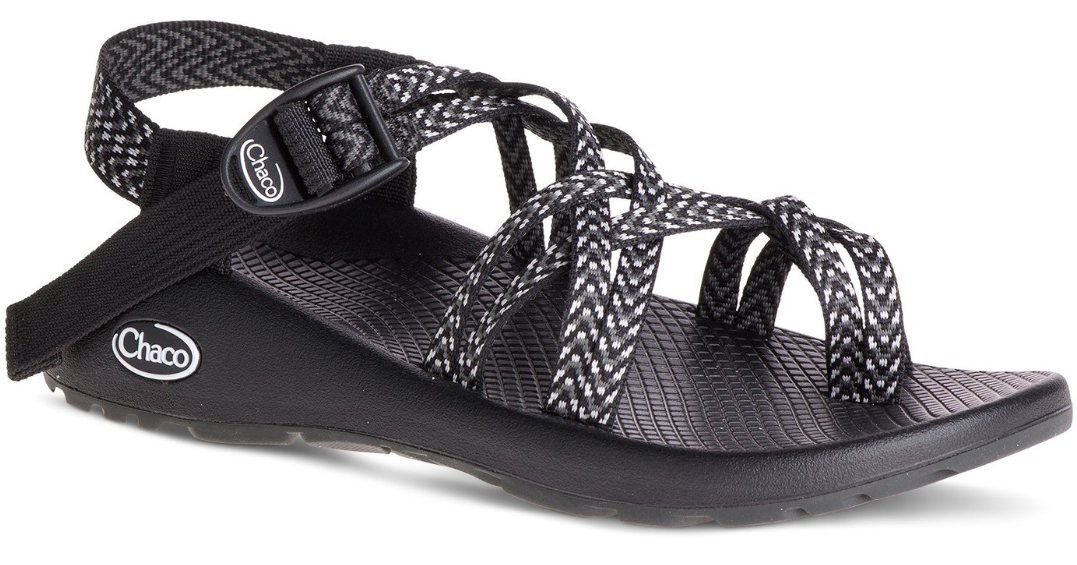 Chaco ZX 2 Classic Boost Black Comfort Sandal Women's sizes 6-11 NIB