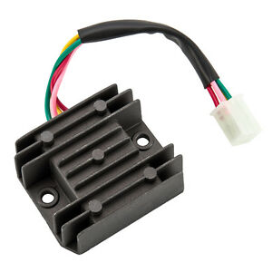 Universal 4 Wire 2 Phase Motorcycle Regulator Rectifier 12V ... on
