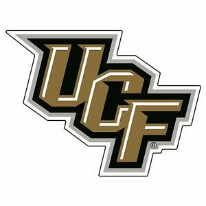 University of Central Florida UCF Golden Knights Round 12 inch Wall Clock Chrome Plated
