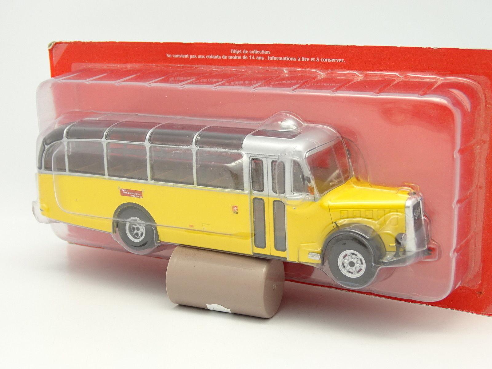 Altaya Ixo Presse 1 43 - Bus Car Autocar Saurer L4C 1949