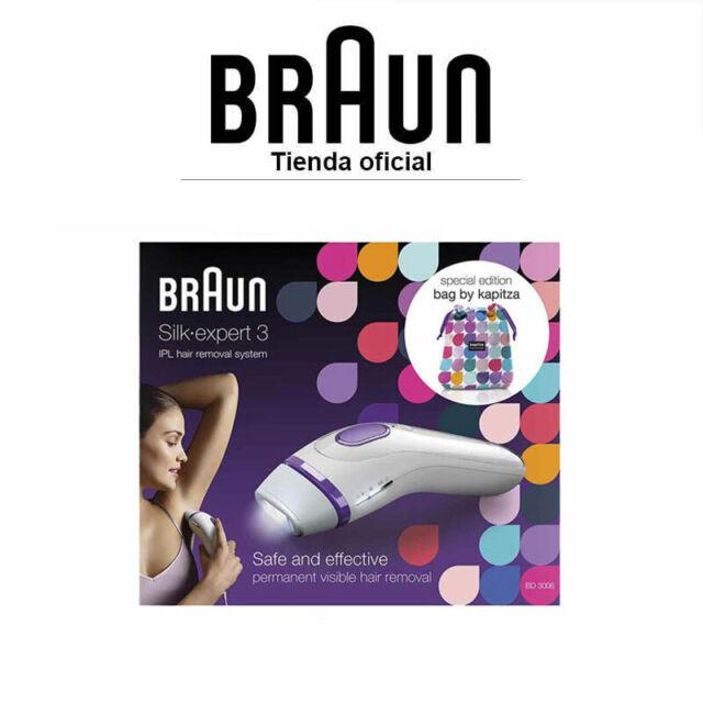 Depiladora de Luz Pulsada Braun Silk-expert 3 IPL BD 3006 Depilación permanente