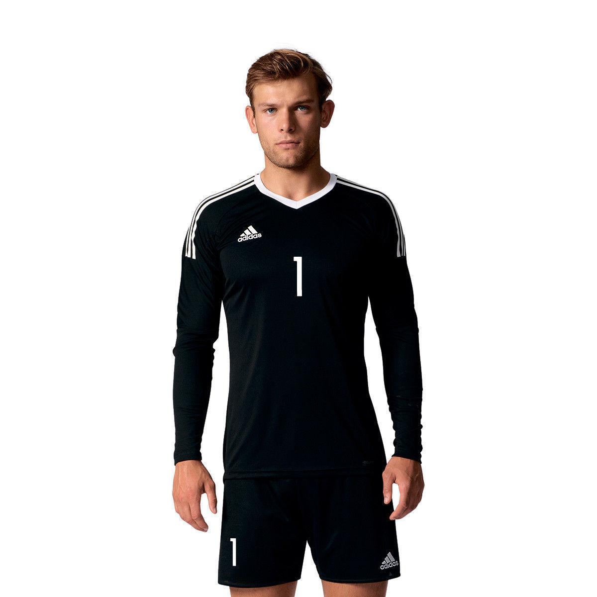 Adidas Fussball Torwart Trikot 2017 Manuel Neuer 1 schwarz weiss