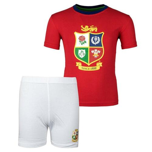 British and Irish Lions ENF Ants Official Lion/'s sleep Set Short /& Chemise