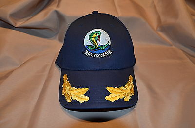 Navy Blue Patrol Squadron Sixty VP-60 Baseball Cap O5+ Officers Embroidered