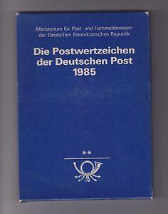 DDR-Jahrbuch-1985-komplett-postfrisch-bitte-ansehen