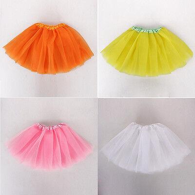 3-5Y Tutu Ballet Dress Baby Girls Clothes Kid Infant Dancewear Skirts Costume