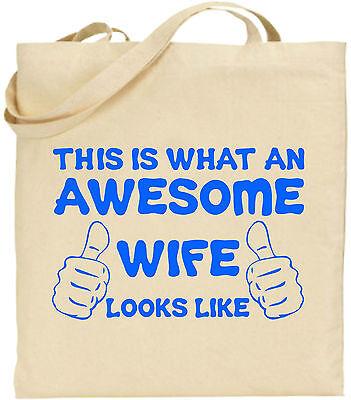 Toll Frau groß Baumwolltasche Einkaufstasche Leinen lustig Mädchen