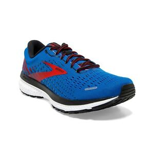 BROOKS-GHOST-13-Scarpe-Running-Uomo-Cushion-Neutral-BLUE-RED-WHITE-110348-435