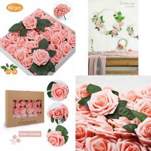 Mesa Baby Shower Nina.Details About Centros De Mesa 60 Flores Rosas Artificiales Para Baby Shower Nina Bouquets Boda