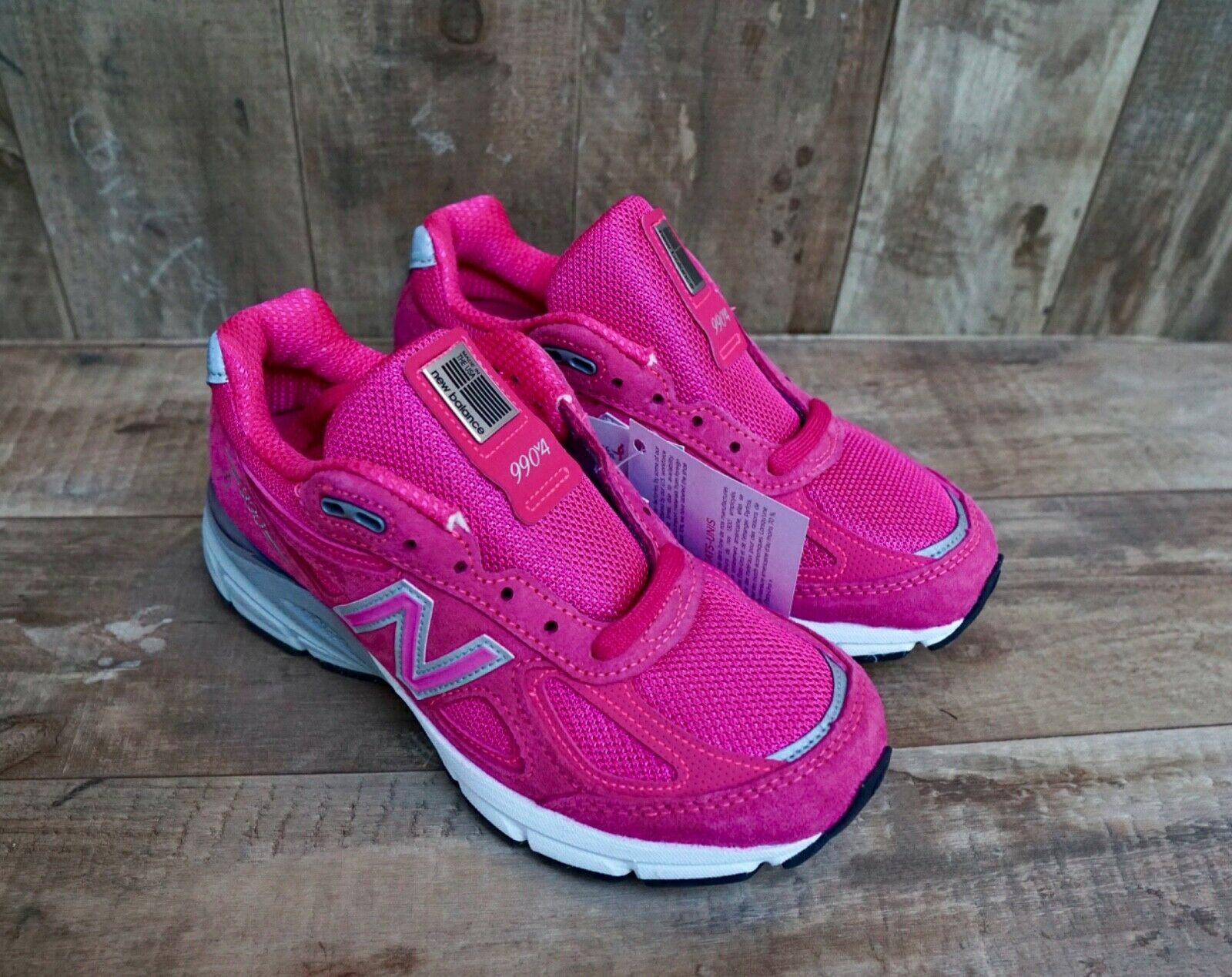 New New Balance Pink Ribbon 990v4 Women's Running shoes Select-a-Size W990KMV